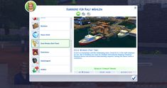 The Sims 4 Dock Worker Career (Part Time) by Marduc_Plays Sims 4 Traits, Cc Fashion, Part Time, Sims Mods, The Sims4, Sims Cc, Career, Mansion, Plays
