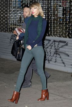It has been a process figuring out Taylor Swift's fashion identity post-workout. Here the she is leaving the gym at night in New York City  -- check out the rest of Taylor's gym fashion evolution!