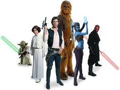 "I do a daily poem at http://newsprintpoetry2012.blogspot.com.  This picture of the Star Wars characters illustrates my poem for 11/04/12 entitled ""Star Wars."""