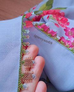 Çok Muhteşem Yazma Kenarı İğne Oyası Modelleri Baby Knitting Patterns, Needlework, Coin Purse, Bling, Youtube, Instagram, Lace, Needle Lace, Tejidos