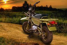 Ferro Velho Motos Antigas : Honda CT50 Motra
