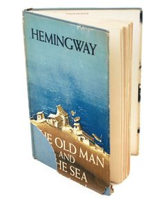"The Old Man And The Sea - Ernest Hemingway ""Then the fish came alive, with his death in him, and rose high out of the water showing all his great length and width and all his power and his beauty."""