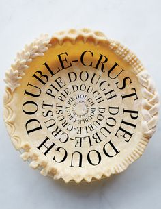 This recipe for a double-crust pie dough is perfect for all of your favorite pie recipes especially since it allows you to create a plethora of crust designs. Pie Recipes, Dessert Recipes, Pastry Recipes, Fall Recipes, Sweet Recipes, Pie Dough Recipe, Crust Recipe, Martha Stewart Recipes, Baking Classes
