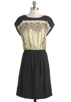 A Dot to Fall For Dress, #ModCloth