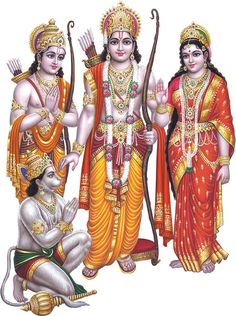 Hindu god sri ram laxman maa sita and hanuman ji Ram Navami Images, Shree Ram Images, Rare Images, Hindus, Lord Sri Rama, Hanuman Ji Wallpapers, Lord Rama Images, Hanuman Images, Ganesh Images