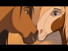 Spirit Stallion Of The Cimarron - Reunion (HD) Spirit The Horse, Spirit And Rain, Horse Girl, Horse Love, Kenny South Park, Snake Art, Cute Funny Babies, Horse Drawings, Fanart