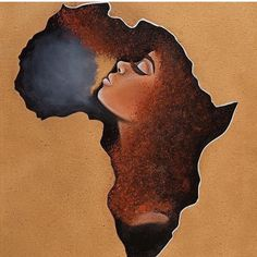 Black Hair Afrocentric Beauty AfrocombYou can find Black women art and more on our website. Black Art Painting, Black Artwork, Black Love Art, Black Girl Art, Afrika Tattoos, Arte Black, Afrique Art, African Art Paintings, Black Art Pictures