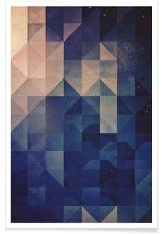 Hystyry als Premium Poster door Spires | JUNIQE