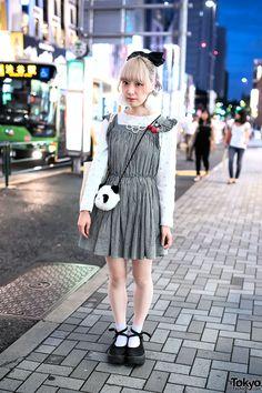 """kawaii (かわいい) ... Sumi, owner of indie fashion brand/shop """"Prismic Prism""""   12 October 2014   #Fashion #Harajuku (原宿) #Shibuya (渋谷) #Tokyo (東京) #Japan (日本)"""
