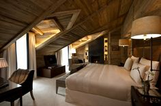 Hotel The Alpina Gstaad in Switzerland - Panorama Suite