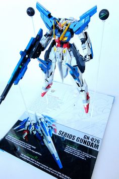 GN-026 SERIOS GUNDAM - Gundam Kits Collection News and Reviews