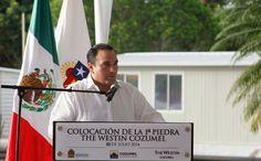 Periodismo sin Censura: COLOCA EL GOBERNADOR LA PRIMERA PIEDRA DEL HOTEL T...