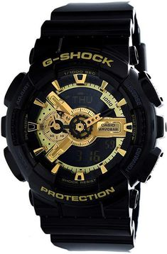 online shopping for Casio G-Shock Men's Military Watch, Black/Gold, One Size from top store. See new offer for Casio G-Shock Men's Military Watch, Black/Gold, One Size G Shock Watches Mens, G Shock Men, Sport Watches, Patek Philippe, Casual Watches, Cool Watches, Elegant Watches, Wrist Watches, Gold G Shock