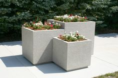 Doty and Sons Concrete Products, Inc.: Concrete Planters - Built to Last!