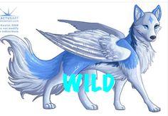 Angel wolf art ( I dont know XD)