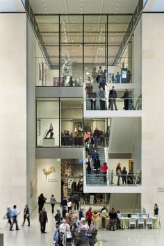 MFA Art of the Americas Wing | Foster + Partners with CBT Architects for the Museum of Fine Arts, Boston. Photo: Nigel Young, Foster + Partners | Bustler
