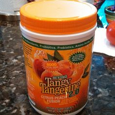 @she_lalah Getting healthy! Small cold this helps! #youngevity #nosugar #glutefree #minerals #probiotics #nogmo #vitamins #bestoutthere! #really #beyondtangytangerine