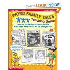 teaching word families phonics phonemic awareness and language arts rh pinterest com Scholastic Word Family Tales Scholastic Word Families