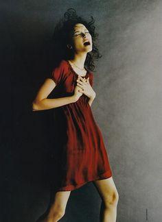 Tasha Tilberg | Photography by Gilles Bensimon | For Elle Magazine US | March 1997