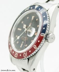 One day I'll own a Pepsi GMT Master. It won't be bakelite though.