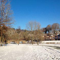 Bouillon under winter sun