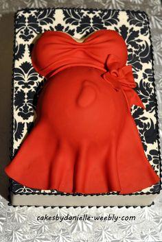 .Een prachtige zwangere buiktaart. Deze zwangere buik taart is natuurlijk helemaal passend bij een babyshower. www.babyshowerfriesland.nl