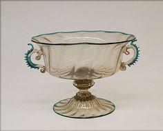 Bowl, 17th century Italian, Venice (Murano) Glass Dimensions: H. 4 in ...
