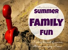 Summer Family Fun Linky Party at Intelligentdomestications.com