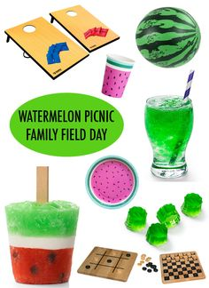 Planning Our Watermelon Picnic Family Field Day With @KRAFTJELLO !  #justaddjellOVE #AD ⋆ Brite and Bubbly @KRAFT