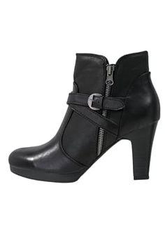 Bestill Anna Field Ankelboots - black for kr med gratis frakt på Zalando. Anna, Boots Talon, Black Noir, Black Ankle Boots, Sneakers, Stylish, Shopping, Service Client, Porn