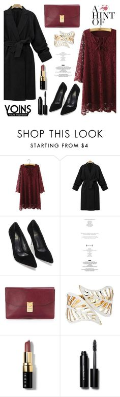 """""""YOINS"""" by helenevlacho ❤ liked on Polyvore featuring CÉLINE, Bobbi Brown Cosmetics, women's clothing, women, female, woman, misses, juniors and yoins"""