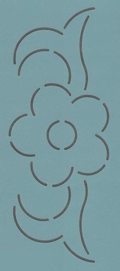"""Zion 92 3"""" - The Stencil Company"""
