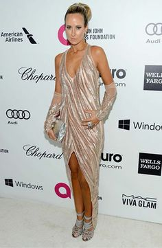 Lady Victoria Hervey in Gaurav Gupta at the 22nd Annual Elton John AIDS Foundation Oscar Viewing Party.