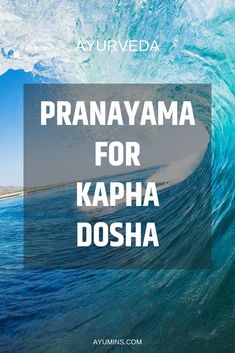 """Pranayama For Kapha Dosha, in the case of Kapha, this means choosing a routine that promotes warmth in the body to offset the cold, oily and heavy qualities associated with a Kapha. The recommended practice for Kapha is Bhastrika, or """"bellows breath"""". Ayurvedic Healing, Ayurvedic Diet, Ayurvedic Recipes, Ayurvedic Medicine, Holistic Medicine, Ayurveda Pitta, Ayurveda Yoga, Daily Exercise Routines, Lourdes"""