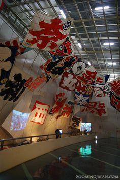 Impressive kites used during the Hamamatsu Kite Festival. Japan Trip, Japan Travel, Hamamatsu, Kites, Rising Sun, Cherry Blossoms, Pavilion, Glamping, Kayaking