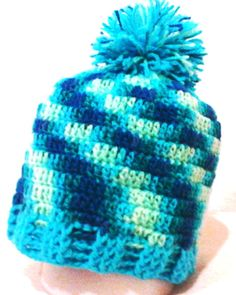 Touca de lã em crochê, ... Unisex veste muito bem, super quentinha    Aproveite!!