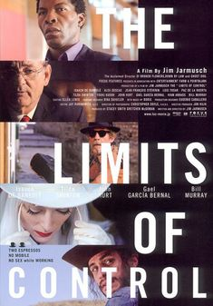 """Jim Jarmusch's """"The Limits of Control"""" Poster"""