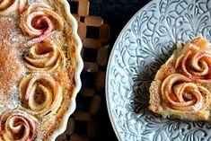 Äppelpaj med äppelrosor – Niiinis Kitchenlife French Toast, Pie, Breakfast, Desserts, Torte, Morning Coffee, Tailgate Desserts, Cake, Deserts