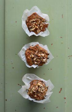Muffins de cenoura e noz [VEGAN] | A Cozinha da Ovelha Negra