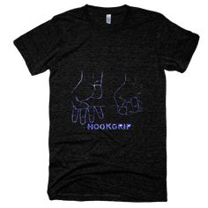American Apparel Crossfit Hookgrip T-Shirt Short Sleeve Tri-Blend Male Adult -- New With Tags
