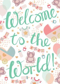 Excellent baby arrival detail are offered on our website. Read more and you will not be sorry you did. Welcome Baby Girls, New Baby Girls, Baby Love, Baby Baby, Welcome New Baby, New Baby Quotes, Baby Girl Quotes, Hello Quotes, Baby Born Congratulations