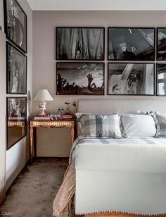 Apartamento de David Bastos em SP é sóbrio e cheio de arte - Casa