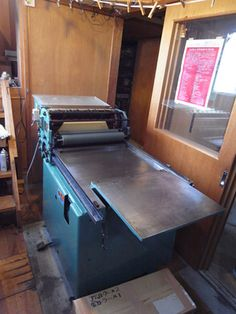 Japanese Vandercook