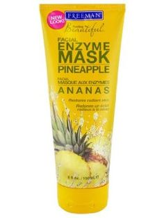 Freeman Feeling Beautiful Pineapple Enzyme Facial Mask (150 ml) - 6 fl oz  by Freeman  $6.62