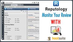 Reputology: Monitor your Online Reviews with Hoot Suite App