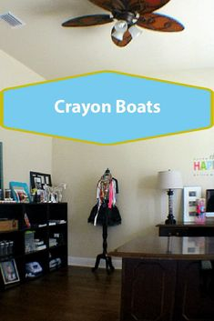 Crayon Boats : Papercrafting with a 9 year old, keep your crayons from rolling on the floor with this simple paper craft taking seconds to set up for little ones Tutu Bow Holders, Crayon Holder, Easy Paper Crafts, 9 Year Olds, Crafts For Girls, Craft Activities, Little Ones, Boats, Flooring