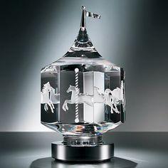 Steuben Glass Merry-go-round