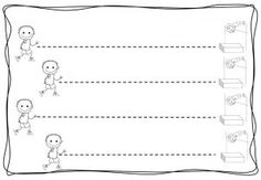 tracing line free worksheets (5)