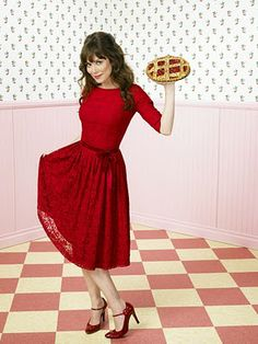 Chuck's awesomeness is not limited to her red dress and cup pies.