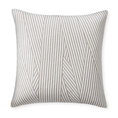 Williams-Sonoma Home's patterned throw pillows update a space with fresh designs and color. Shop printed and patterned accent pillow covers including plaid, geometric, and animal print pillows. Bed Linen Sets, Linen Duvet, Linen Pillows, Decorative Throw Pillows, Bed Linens, Linen Fabric, Bed Sets, Grey Pillows, Kids Pillows